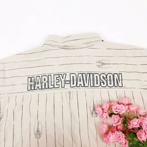 Vintage Harley Davidson Spellout Shirt